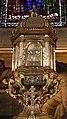 Pietro tacca e orazio vanni, ciborio del duomo di firenze, con sportello di bernardo holzmann, argento, 1622-37, 03,1.jpg