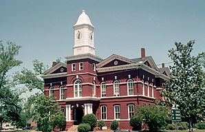 Pike County Courthouse (erbaut 1895)
