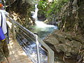 PikiWiki Israel 14677 Suspended Trail at Banias river.JPG