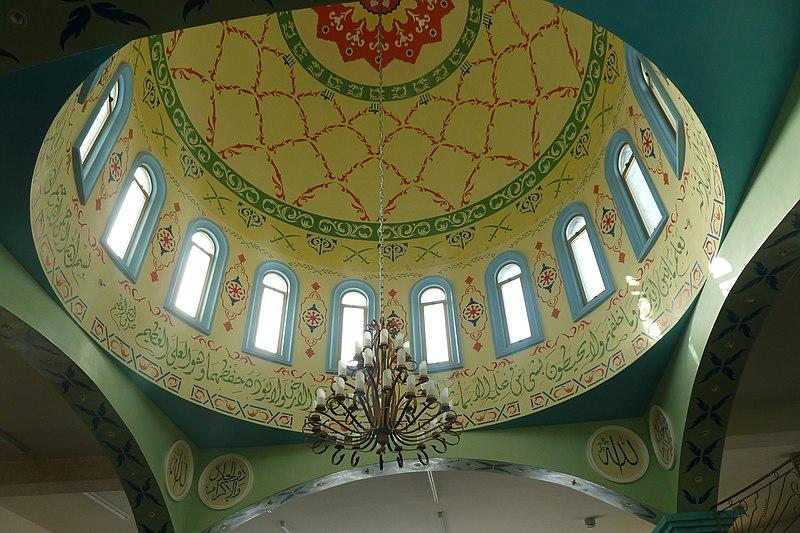 כיפה במסגד סלאח אל-דין