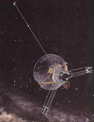 Pioneer program - Artist's conception of the Pioneer 10–11 spacecraft