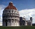 Pisa-Piazza dei Miracoli-12-Totale von Baptisterium-1983-gje.jpg
