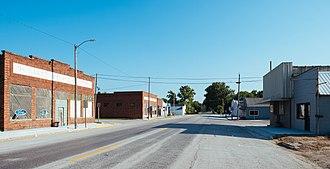Iowa Highway 183 - Iowa 183 as it passes through Pisgah
