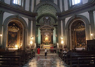 Interior of Basilica of Our Lady of Humility Pistoia madonna del umilta 001.JPG