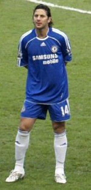 Claudio Pizarro - Pizarro at Chelsea in 2008