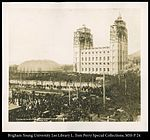 Placing the Capstone on the Mormon Temple April 6, 1892 C.R. Savage, Photo..jpg
