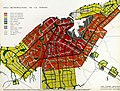 Plan Piloto. Population density in the metropolitan area of Havana and use map. Havana, Cuba. publication date 1959.jpg
