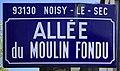Plaque Allée Moulin Fondu - Noisy-le-Sec (FR93) - 2021-04-24 - 1.jpg