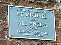 Plaque On The Remains - geograph.org.uk - 1441931.jpg