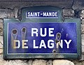 Plaque Rue Lagny - Saint-Mandé (FR94) - 2020-10-16 - 2.jpg
