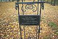 Platanus Andrzej to Andrzej Małkowski at Adam Mickiewicz Park in Sanok 2.jpg