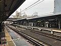 Platform of Kyobashi Station (Osaka Loop Line) 5.jpg