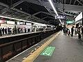 Platform of Shin-Imamiya Station (Nankai) 3.jpg