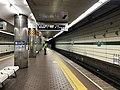 Platform of Shin-Nagata Station (Seishin-Yamate Line) 2.jpg