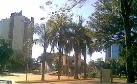 Centro de la Plaza de Armas en Encarnación