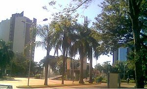 Το κέντρο της πόλης Ενκαρνασιόν.