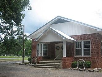 Bienville Parish, Louisiana - Pleasant Grove Baptist Church and Cemetery in Bienville Parish; land for the church and cemetery was donated in the 19th century by William Thomas Corley.