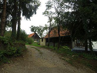 Požun, Croatia - Houses in Požun (Ozalj)