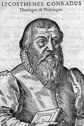 Conrad Lycosthenes - Conrad Lycosthenes