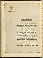 Political Testament of Adolph Hitler 1945 page 1.jpg