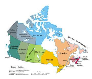 mapa canada com cidades Lista de cidades do Canadá – Wikipédia, a enciclopédia livre mapa canada com cidades