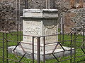 Pompeii Temple of Vespasian altar side.jpg