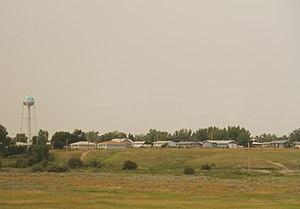Poplar, Montana - Panorama of Poplar