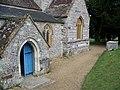 Porch, Parish Church of St Mary, Winterborne Whitechurch - geograph.org.uk - 710603.jpg