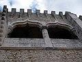 Pormenor de uma Torre do Castelo de Porto de Mós.jpg