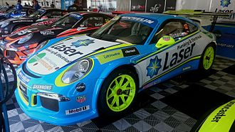 Steven Richards - Richards placed fifth in the 2016 Porsche Carrera Cup Australia series