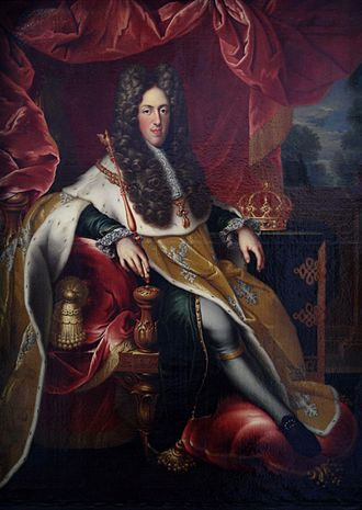 Leopold, Duke of Lorraine - Leopold of Lorraine and Bar with Ducal regalia