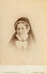 Portrait of nun by H Macorquodale of Tremont Street in Boston USA.png