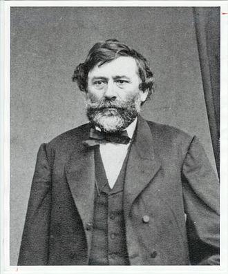 Agoston Haraszthy - Image: Portrait of the Hungarian Count Agoston Haraszthy
