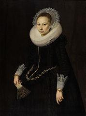 Portrait of Maria Overrijn van Schoterbosch (1599/1600-1638)