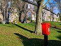 Postbox, Main Street, Whalton (geograph 2152520).jpg