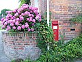 Postbox, Urchfont - geograph.org.uk - 1430959.jpg