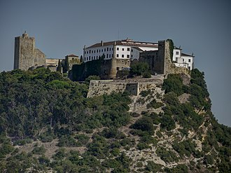Pousadas de Portugal - Pousada of Palmela, located in the former castle and headquarters of the Military Order of Saint James of the Sword