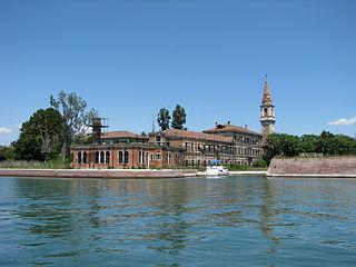 Poveglia Italian island