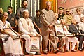 Pranab Mukherjee felicitated the Freedom Fighters, during the presentation of the Punyabhushan Awards, in Pune, Maharashtra on June 26, 2015. The Governor of Maharashtra, Shri C. Vidyasagar Rao is also seen.jpg