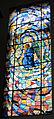 Prato, chiesa del soccorso, int., vetrata 01.JPG