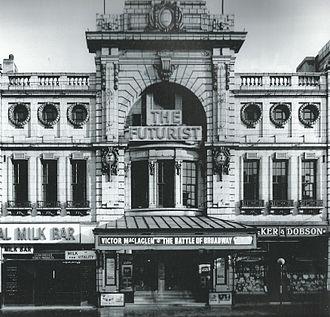 The Futurist Cinema, Liverpool - The Futurist in 1938