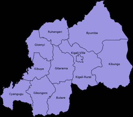 Provinces of Rwanda Wikipedia
