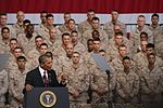 Pres. Obama to Marines- 'Our Marine Corps is the finest expeditionary force in the world' (Image 14 of 24) (9467927010).jpg