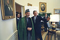 President Bush and Afghanistan's Interim Authority Chairman Hamid Karzai.jpg
