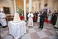 20080416 Benedict XVI George W Bush birthday.jpg