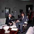 President John F. Kennedy Meets with Ambassador of Greece, Alexander A. Matsas.jpg