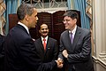 President Obama Shakes Hands With Deputy Secretary of State Lew (4694021498).jpg