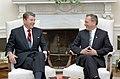 President Ronald Reagan and Károly Grósz.jpg
