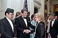 President Ronald Reagan with King Birendra Bir Kikram Shah Dev of Nepal and Joan Rivers.jpg