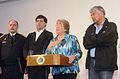 Presidenta Bachelet realiza declaraciones ante incendio en Valparaíso 03.JPG